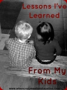 Life Lessons from My Toddlers