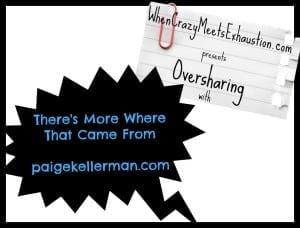 OversharingPresents