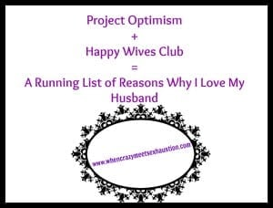 Project Optimism: Happy Wives Club