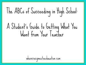 ABCs of Succeeding in HS