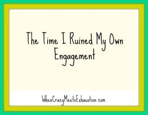 ruined engagement