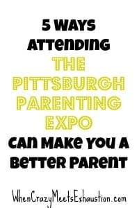 Pittsburgh's First Parenting Expo + A Giveaway = Your Lucky Day