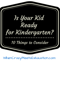 My Son Will Not Start Kindergarten On Time