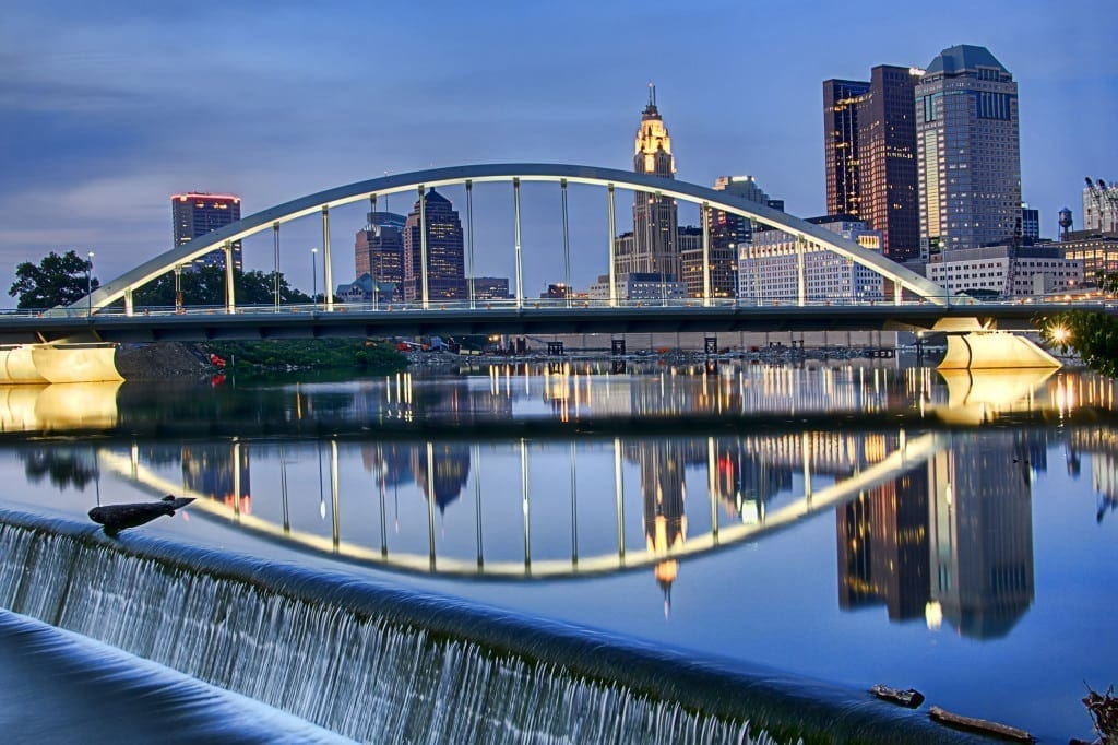 Columbus is purty.