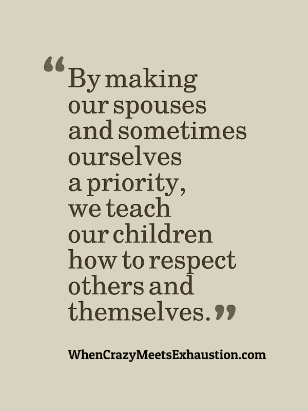 Be a better parent by being a better spouse.