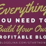 Blogelina Profitable Blogging is only $5!