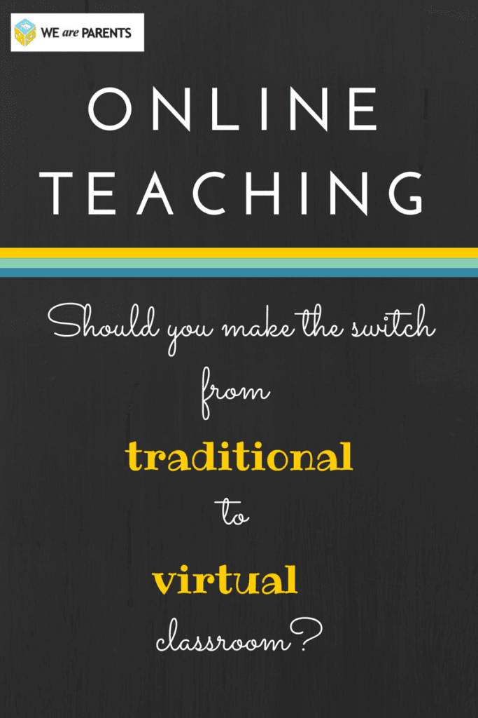 Traditional vs. Online teaching: frequently asked questions, pros and cons, and one English teacher's choice for the cyber classroom #education #teaching