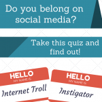 Do you behave badly on social media? Are you a TROLL?! Take this quiz and find out!