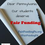 Fair Funding for PA!