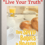 What an inspirational interview with author of They Serve Bagels In Heaven!