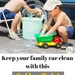 5 Ways to Keep Your Family Car Clean
