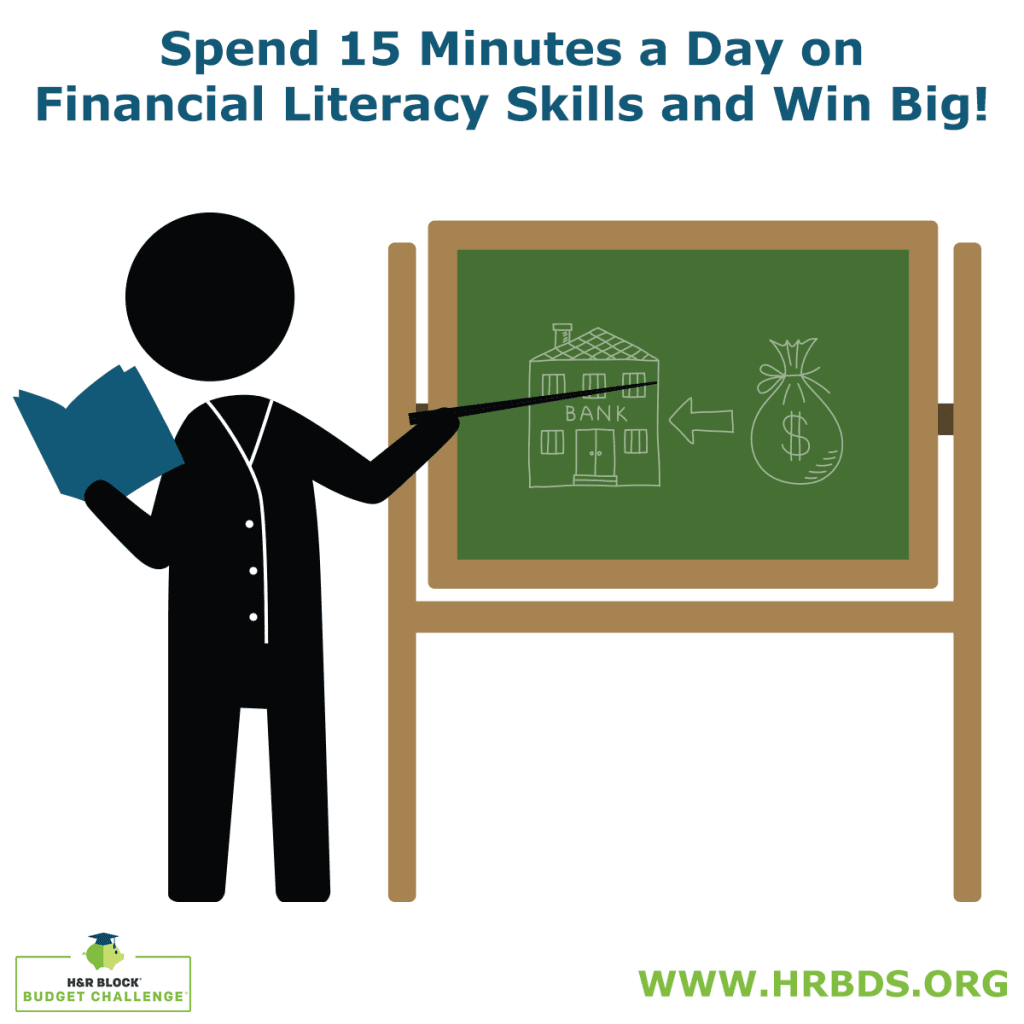 The H&R Block Budget Challenge is back! Register your classroom for a chance to win MILLIONS!