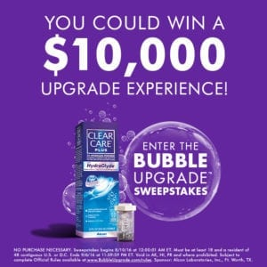 My Husband Almost Lost An Eye So You Can Win Stuff!