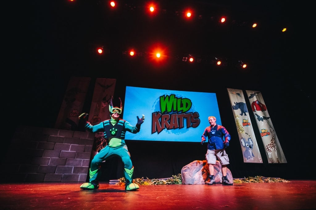 Wild Kratts Live in Portland, OR 9/24/16